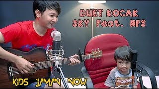 Baixar (Duet Kocak) Sky Feat. Nathan Fingerstyle - Kids Jaman Now