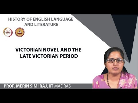 Lecture21 Victorian Novel and the Late Victorian Period