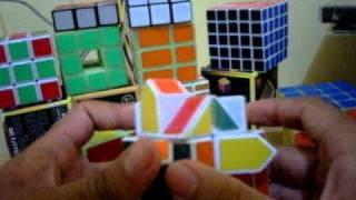 tutorial rubik square king atau fisher cube indonesia part 4 (pembuatan leher ke dua)