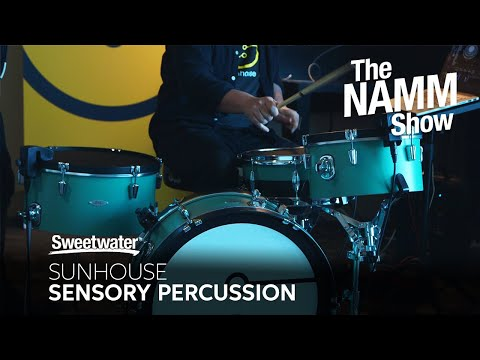 Sunhouse Sensory Percussion New Features at Winter NAMM 2020