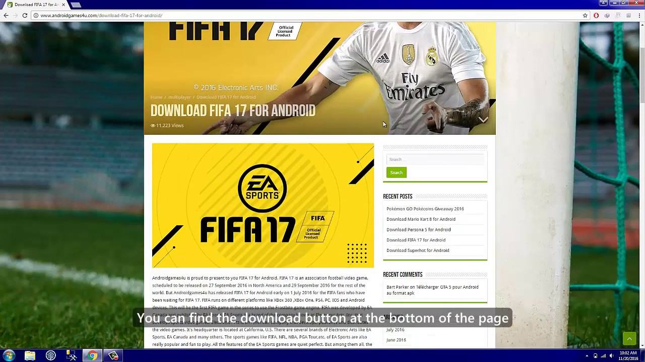 fifa 17 apk for android free download