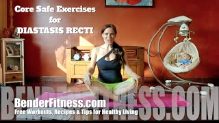Core Safe Exercises for Diastasis Recti: Postpartum & Beyond