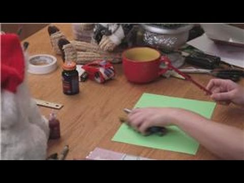 DIY Christmas Cards : Christmas Cards for Kids to Make for Parents