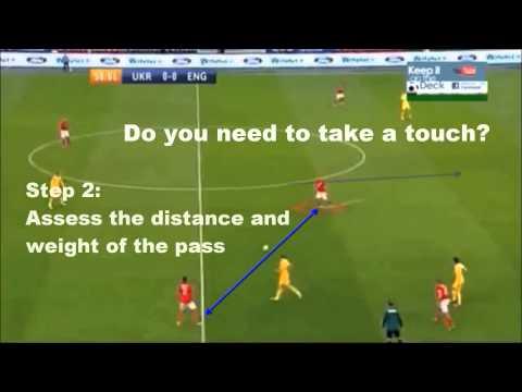 Ways to create space as a Midfielder   Xavi, Silva Iniesta & Jack Wilshere