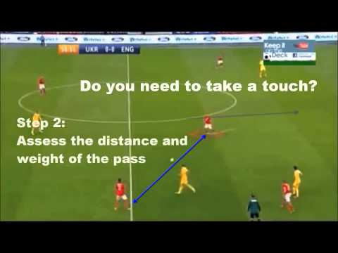 Ways to create space as a Midfielder   Xavi, Silva Iniesta & Jack Wilshere