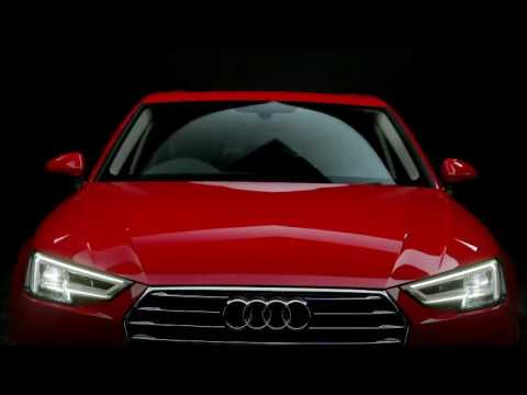 The all new Audi A4 has arrived