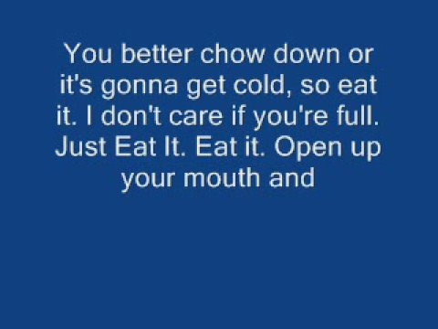 Eat It - Weird Al Yankovic (with lyrics)