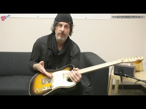 Richie Kotzen from The Winery Dogs Discussing and Demonstrating His Signature Fender Telecaster