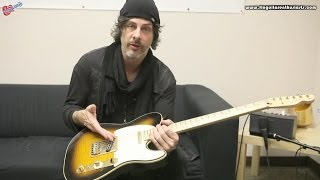 Richie Kotzen from The Winery Dogs Discussing and Demonstrating His Signature Fender Telecaster thumbnail