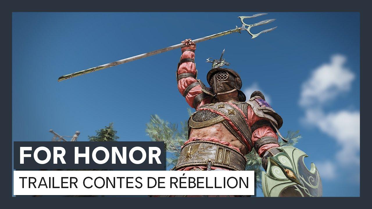For Honor - Année 4 Saison 3 Resistance : Trailer de l'évènement Contes de Rébellion