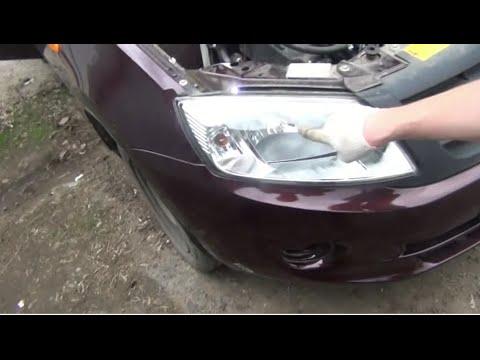 Замена лампы ближнего дальнего света H4 на ВАЗ - Lada Granta