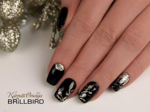 The Most Glamorous Nail Art Glamour Gels From Brillbird Youtube