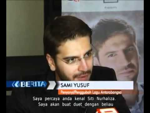 Sami Yusuf will be collaborating with Siti Nurhaliza