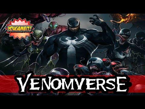 MEGA-VIDEOCOMIC: VENOMVERSO 🕷 Historia Completa