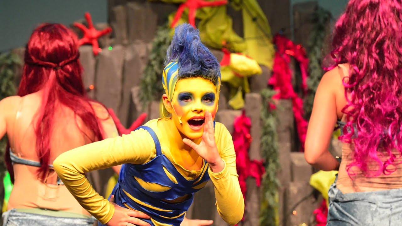arielle  die kleine meerjungfrau 2014  musicalschule