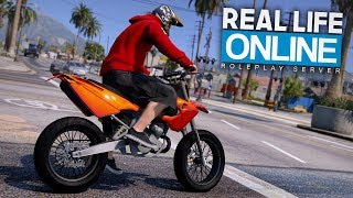 MOPED TUNER vs POLIZEI! 😱 - GTA 5 Real Life Online