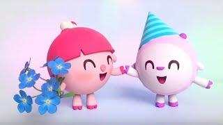 Малышарики - песенка -  Потанцуй -  для самых маленьких - клип на песню