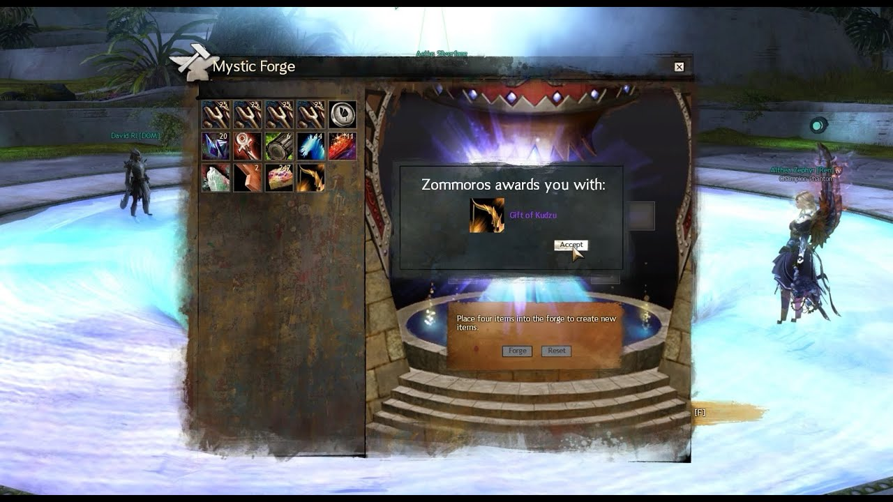 Guild Wars 2 (GW2) - Crafting the Gift of Kudzu - 1440p 60fps ...