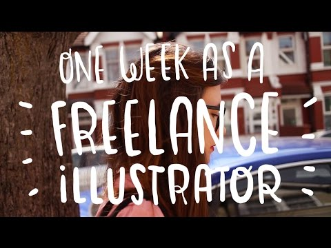 One week as a freelance illustrator ~ Frannerd