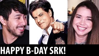 Reaction to SRK Making of Music Video | + HAPPY BIRTHDAY SRK!