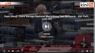 LIVE: Sidang Dewan Rakyat, 1 Disember 2020