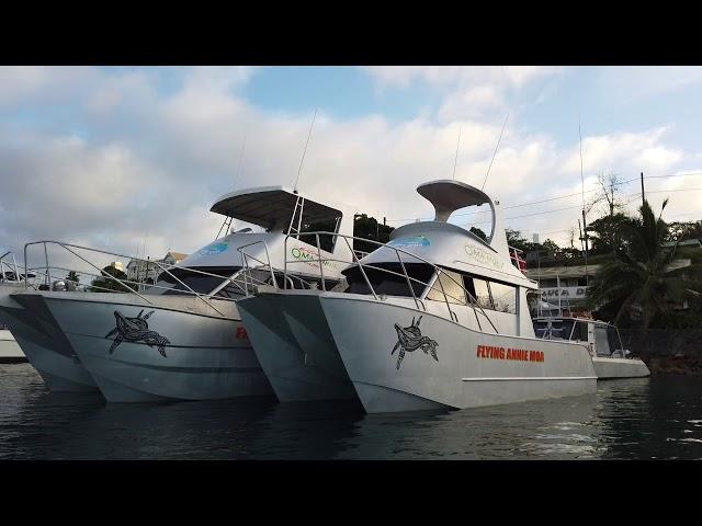 Boats in Tonga