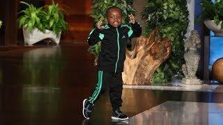 Kid Dancer Tavaris Jones Performs!
