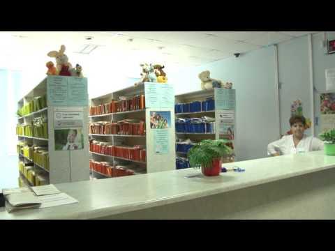 Инфомат в детской поликлинике г. Луховицы