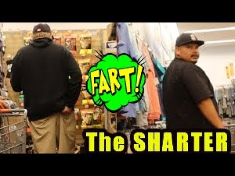 Funny Wet Fart Prank With The Sharter Toy | Fun At Walmart