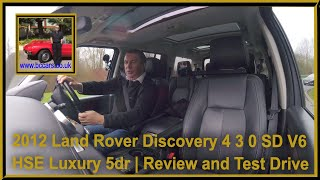 Review and Virtual Video Test Drive In Our Land Rover Discovery 4 3 0 SD V6 HSE Luxury 5dr DN62OAA