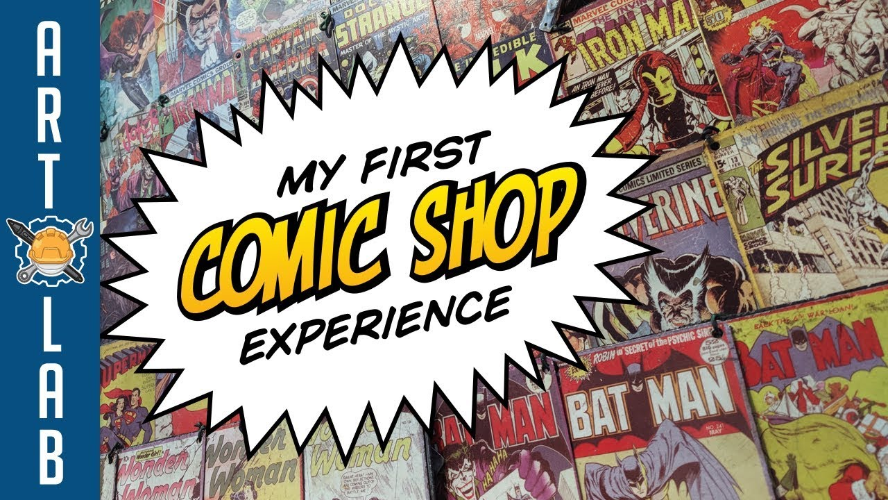 What's Your First Comic Shop Story? #firstcomicshop