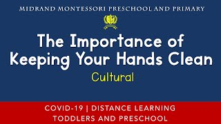 Montessori Cultural Presentation - Science Experiment - Importance of Keeping Your Hands Clean