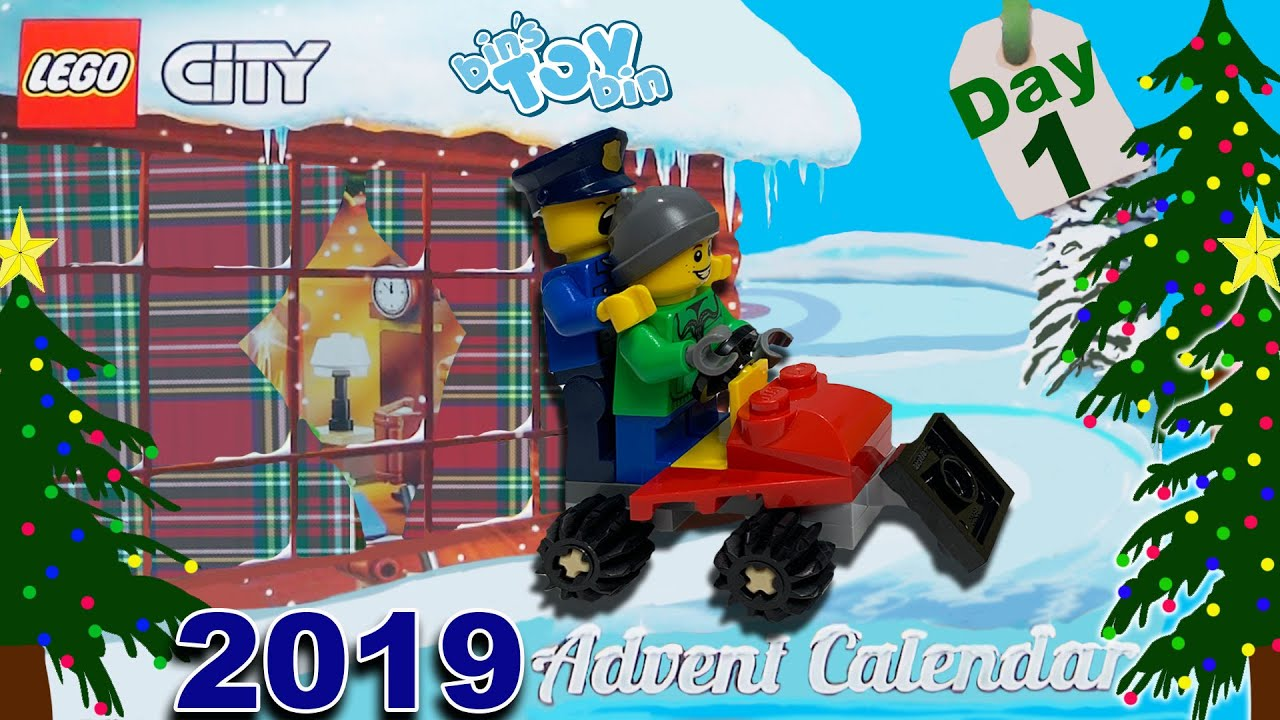 it 39 s here day 1 of the 2019 lego city advent calendar. Black Bedroom Furniture Sets. Home Design Ideas