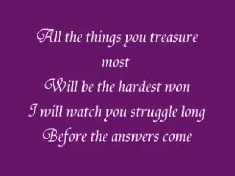 The One Who Knows - Dar Williams (with lyrics)