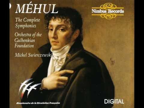 Étienne Nicolas Méhul ~ Symphony no. 1 in G minor - I. Allegro