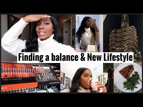 Weekly Vlog | New Lifestyle(diet) & finding a balance . thumbnail