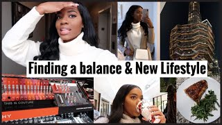 Weekly Vlog | New Lifestyle(diet) \u0026 finding a balance .
