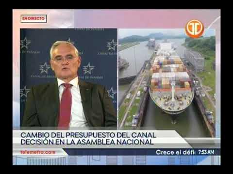 Telemetro Administrador del Canal Jorge Luis Quijano, Proyecto de presupuesto de la ACP
