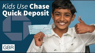 How to Use Chase Quick Deposit Explained By Kids | GBR