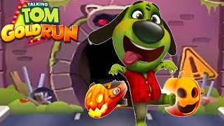 Talking Tom Gold Run - ZOMBIE BEN UNLOCKED(Talking Tom and Friends By Outfit)