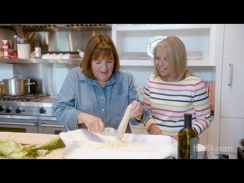 Getting There: Katie Couric and Ina Garten