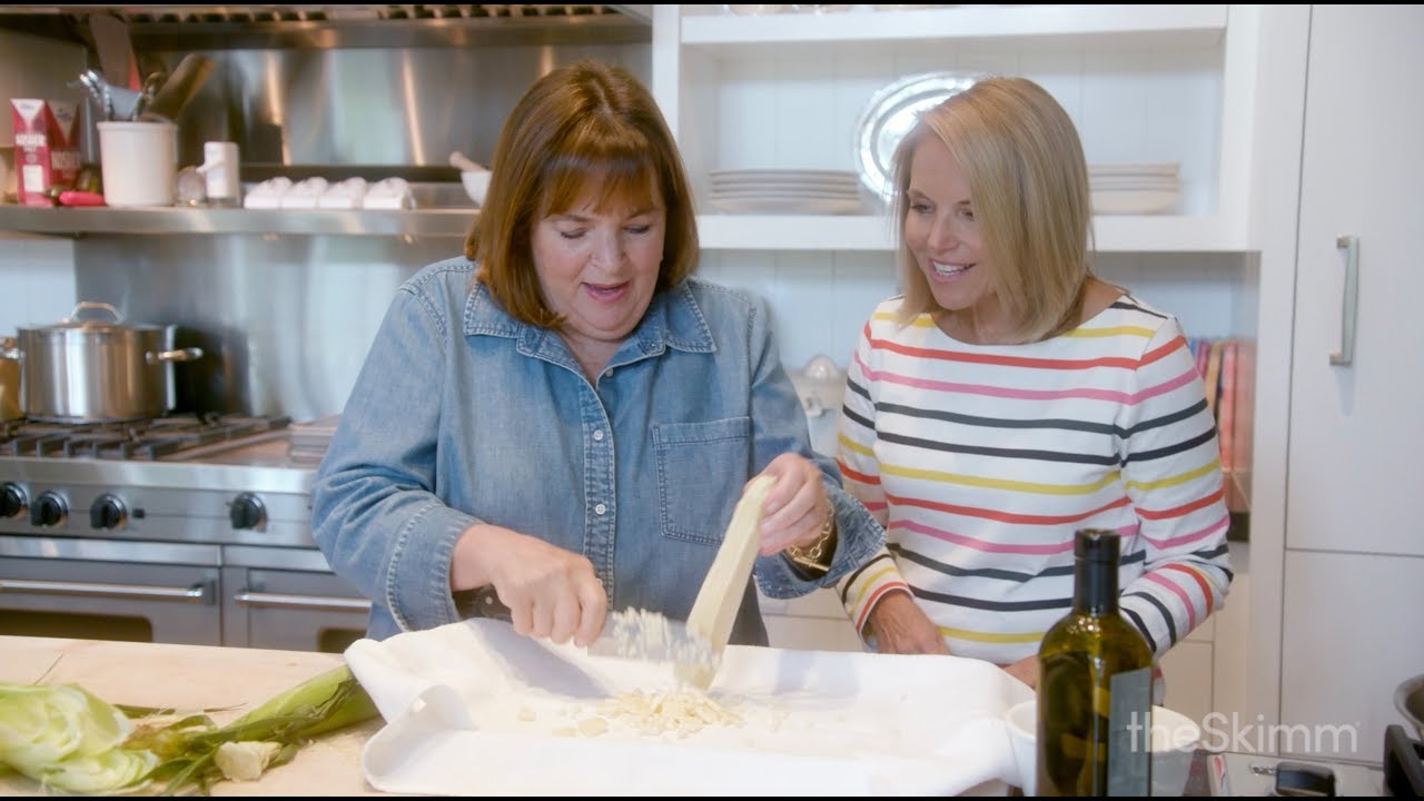 Getting There: Katie Couric and Ina Garten - YouTube