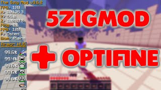 5zig mod mit optifine installieren 1.8 / 1.9 [Deutsch] Download