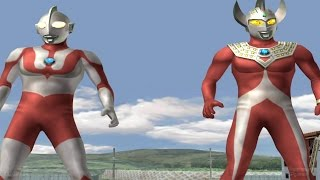 Video Ultraman Taro & Ultraman TAG Team Mode ★Play ウルトラマン FE3 download MP3, 3GP, MP4, WEBM, AVI, FLV Juni 2018