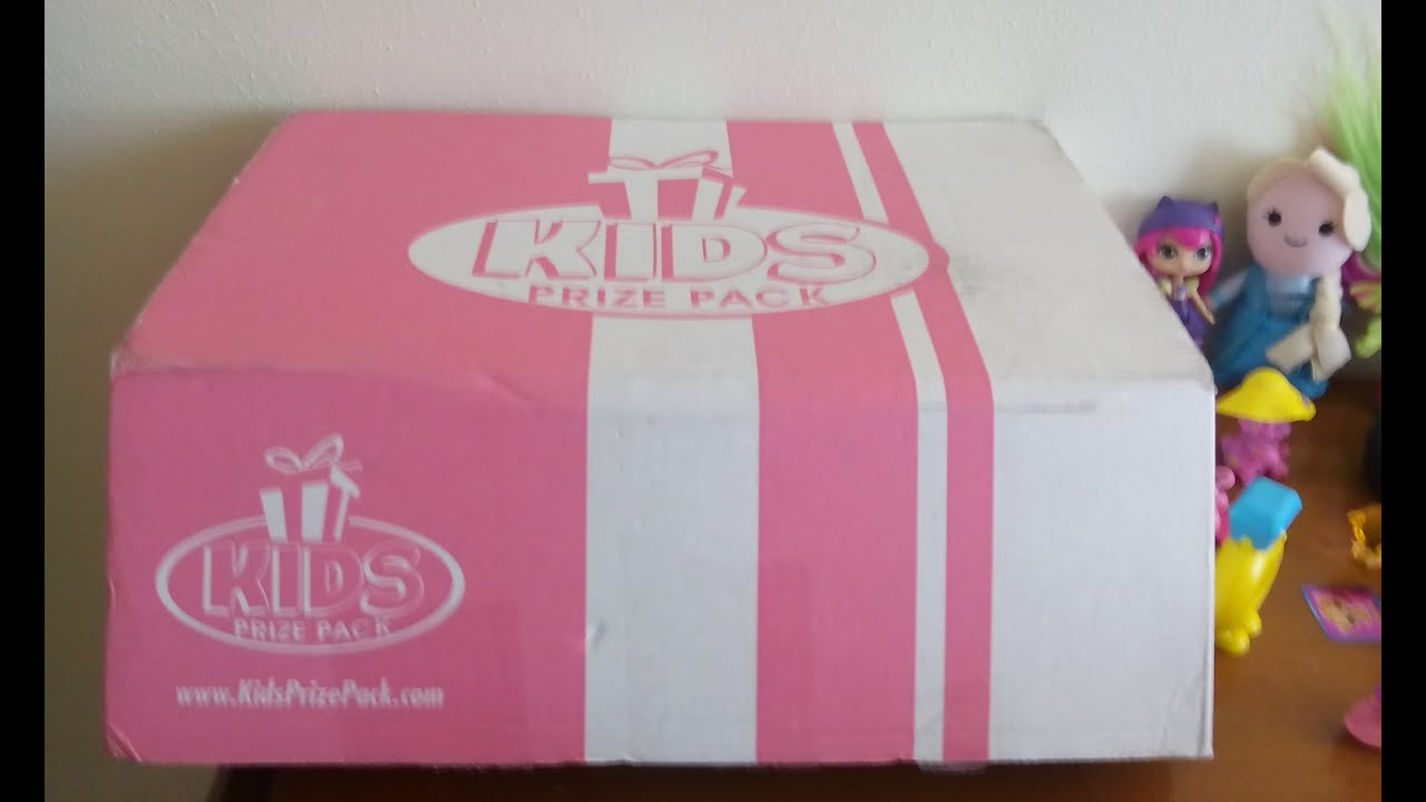 January 2016 Kids Prize Pack Subscription Box Opening (Girls Ages 4 ...
