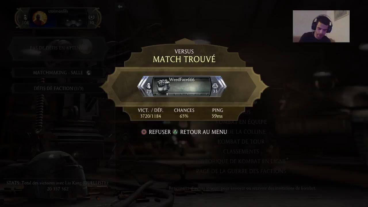 Mortal Kombat x matchmaking en ligne