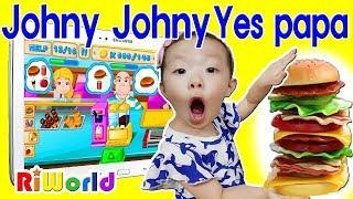 Johny Johny Yes Papa song toy kids song 리원이의 죠니죠니 예스파파 인기동요