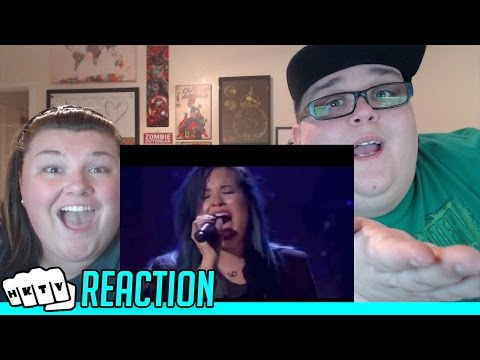 DEMI LOVATO COVERS RIHANNA'S STAY!! REACTION!!🔥