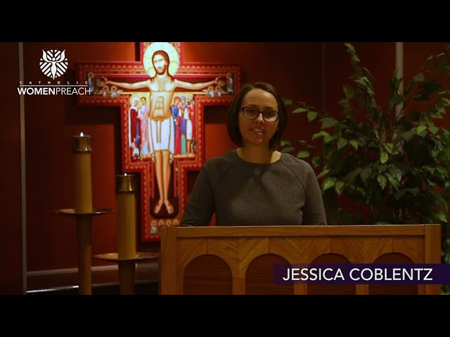 Jessica Coblentz Preaches for Palm Sunday