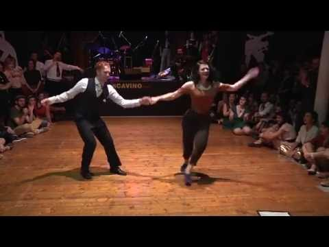Buck Fever | Tony Jackson & Sharon Davis swing dance routine at Swing Train Festival 2016